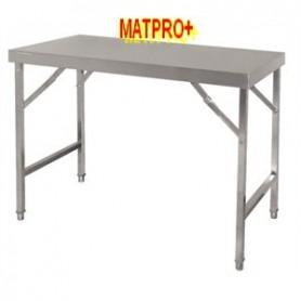 Table  inox pliante