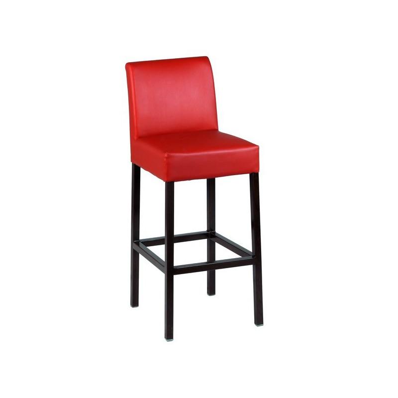 Chaise haute de bar en acier