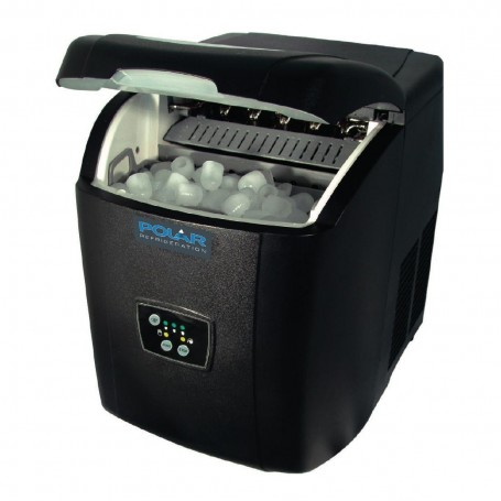 Machine à glaçons de comptoir à remplissage manuel