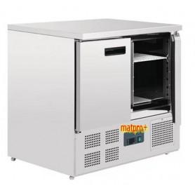 Table congélateur 2 portes compact négative