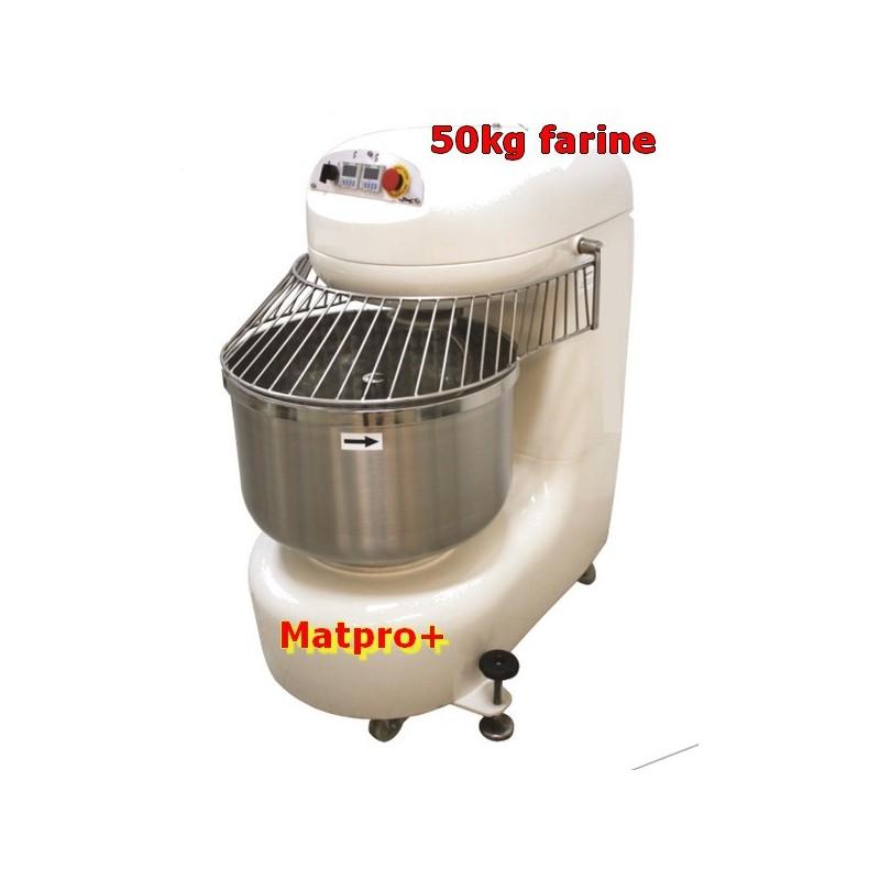 Pétrin spirale Boulanger 50 KILO FARINE