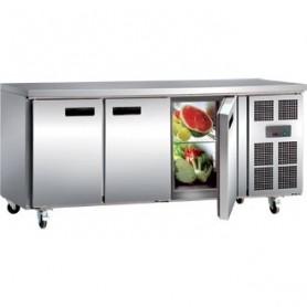 Réfrigérateur de comptoir professionnel 3 portes
