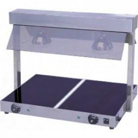 Table chauffante passe-plats vitrocéramique