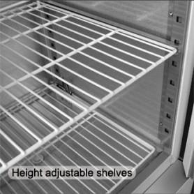 Réfrigérateur table 3 portes